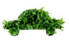Grass shaped car Stock Photos