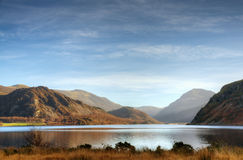Grass on the shore of Ennerdale Stock Image