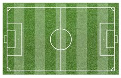 Grass of a soccer field. Football field or soccer field background. Green court for create game Stock Photo