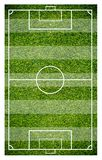 Grass of a soccer field. Football field or soccer field background. Green court for create game Stock Images