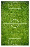 Grass of a soccer field. Football field or soccer field background. Green court for create game Stock Photos