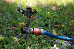 Grass Sprinkler Royalty Free Stock Images
