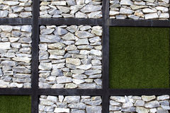 Grass and stone Royalty Free Stock Photography