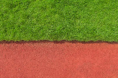 Grass and track texture Royalty Free Stock Image