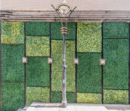 Grass wall wall  doors entrance design Soho Central Hong Kong Stock Image