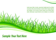 Grass wave background Royalty Free Stock Photography