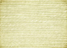 Grass Weave Cream Ribbed Canvas Background Royalty Free Stock Photography