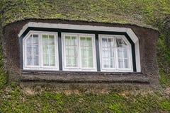 Grass window hobbit movie style Stock Images