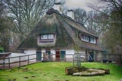 Grass window hobbit movie style Royalty Free Stock Image