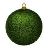 Grass Xmas Bauble Royalty Free Stock Image