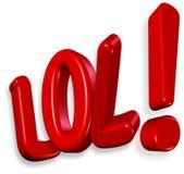 Grassa risata!!! Fotografie Stock