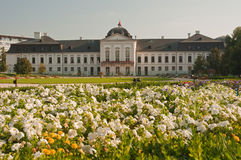 Grassalkovich palace Stock Images
