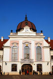 GRASSALKOVICH PALACE. Detail of the Grassalkovich Palace in Godollo, Hungary Stock Photo