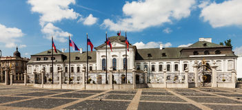 Grassalkovich Palace in Bratislava, Slovakia Royalty Free Stock Images