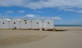 Grassan-Strand Süd-Frankreich Lizenzfreie Stockbilder