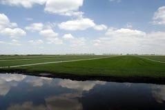 Grasscholle-Landwirtschaft Lizenzfreie Stockfotografie