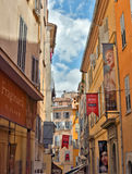 Grasse - Architecture of Grasse Town Royalty Free Stock Images