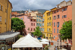 Grasse - Architecture of Grasse Town Royalty Free Stock Photos