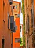 Grasse - Architecture of Grasse Town Royalty Free Stock Photography