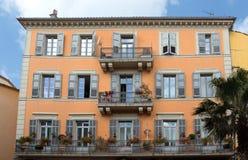 Grasse - arkitektur av den Grasse staden Royaltyfri Foto