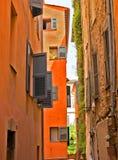 Grasse - arkitektur av den Grasse staden Royaltyfri Fotografi