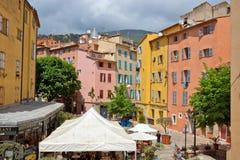 Grasse - arkitektur av den Grasse staden Royaltyfria Foton