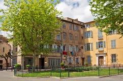 Grasse - arkitektur av den Grasse staden Arkivfoton