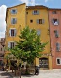 Grasse - arkitektur av den Grasse staden Royaltyfri Bild