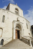 Grasse cathedral Royalty Free Stock Image