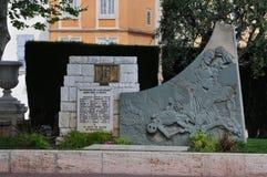 Grasse, France - april 17 2016 : resistance memorial. Grasse, France - april 17 2016 : the resistance monument Royalty Free Stock Images