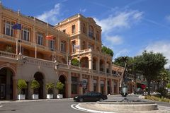 GRASSE, FRANCE - JULY 5: Congress Palace in the city of Grasse o Stock Image