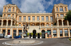 Grasse - Palace of Congresses stock photos