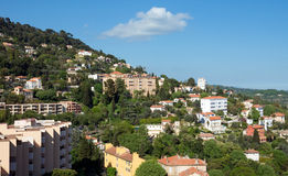 Grasse - panoramic view of city Royalty Free Stock Images