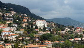 Grasse - panoramic view of city Stock Photography