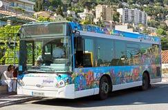 Grasse - Passenger bus Stock Photography