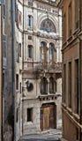 Grasse - Stara ulica Obrazy Royalty Free