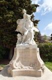 Grasse - Statue of Fragonard Stock Images
