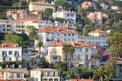 Grasse Town Stock Photography