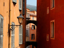 The Grasse village. France Provence Grasse the village Stock Image