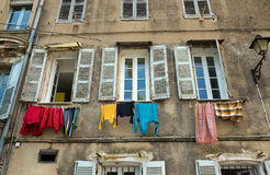 Grasse - Washing day Stock Photography