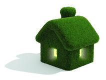 Grassed house Stock Photography
