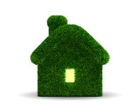 Grassed house Royalty Free Stock Photo