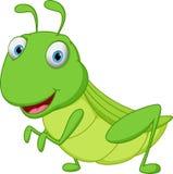 Grasshopper κινούμενα σχέδια Στοκ φωτογραφία με δικαίωμα ελεύθερης χρήσης