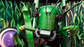 Grasshopper ρομπότ στοκ εικόνα