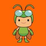 Grasshopper boy Royalty Free Stock Photography
