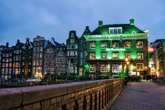 The Grasshopper cannabis coffee shop, Amsterdam, Netherlands Royalty Free Stock Images