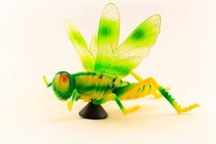 Grasshoppherstuk speelgoed Royalty-vrije Stock Fotografie