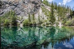 Grassi jeziora odbicie Zdjęcie Stock