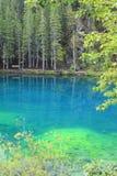 Grassi lakes Stock Photo