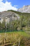 Grassi lakes Royalty Free Stock Photo